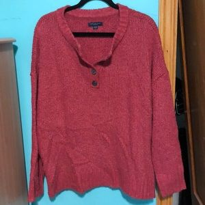 AE Jegging fit sweater XL light burgundy very soft